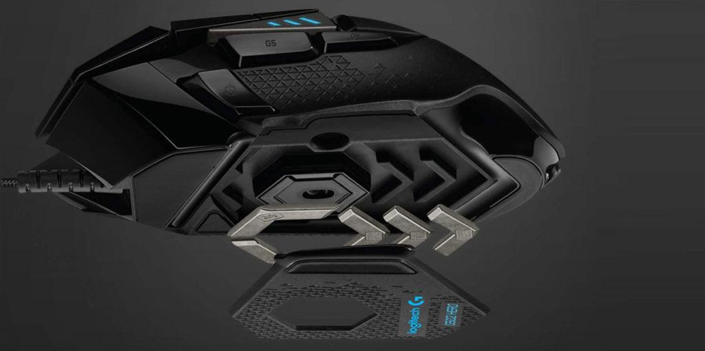 Logitech G502 HERO, prestazioni migliorate grazie ai pesi personalizzabili